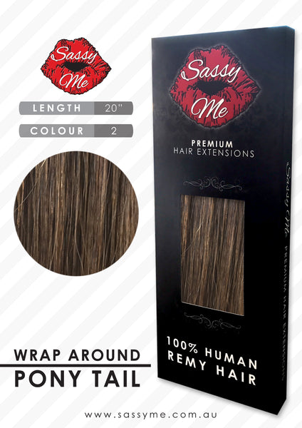 Wrap Around Ponytail Extensions - #2 20 inch