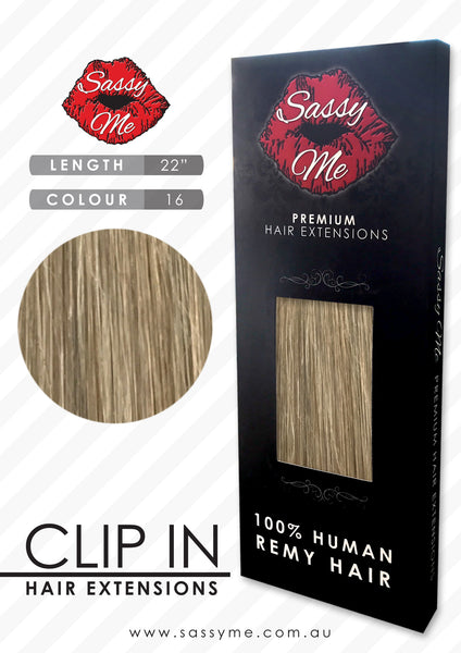 Clip In Hair Extensions - #16