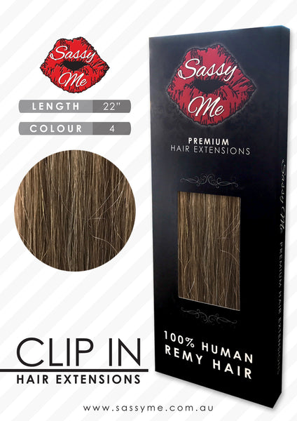 Clip In Hair Extensions - #4