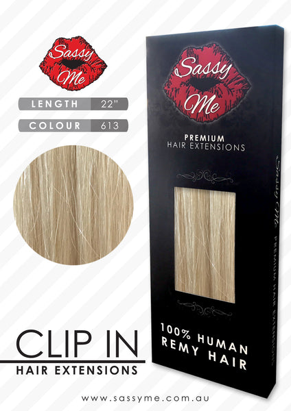 Clip In Hair Extensions - #613