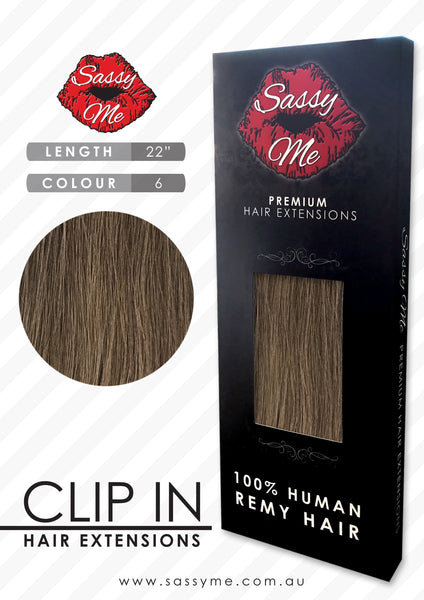 Clip In Hair Extensions - #6