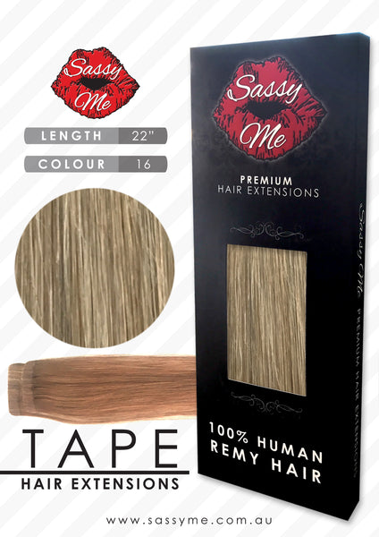 Tape Hair Extensions - #16
