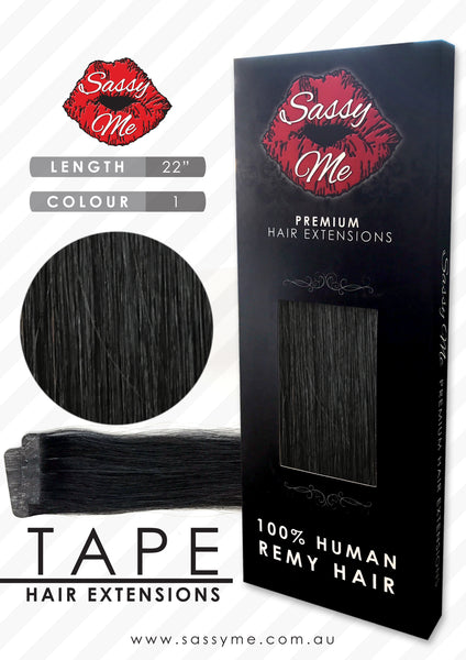 Tape Hair Extensions - #1