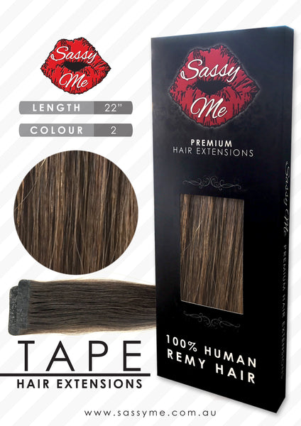 Tape Hair Extensions - #2