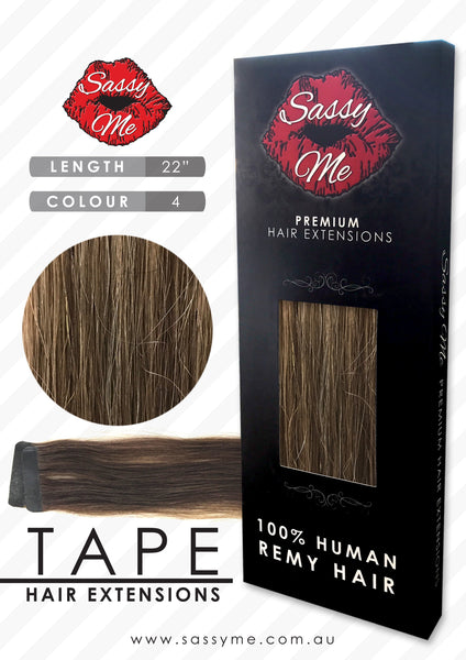 Tape Hair Extensions - #4