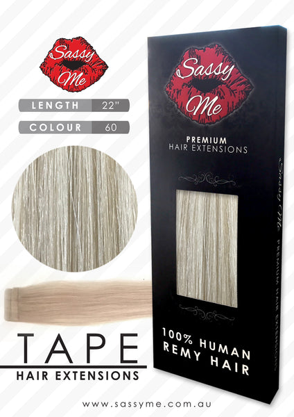 Tape Hair Extensions - #60