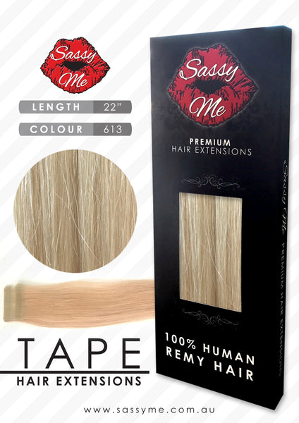 Tape Hair Extensions - #613
