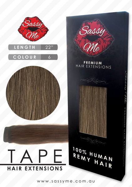Tape Hair Extensions - #6