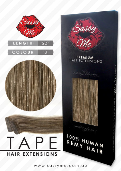 Tape Hair Extensions - #8