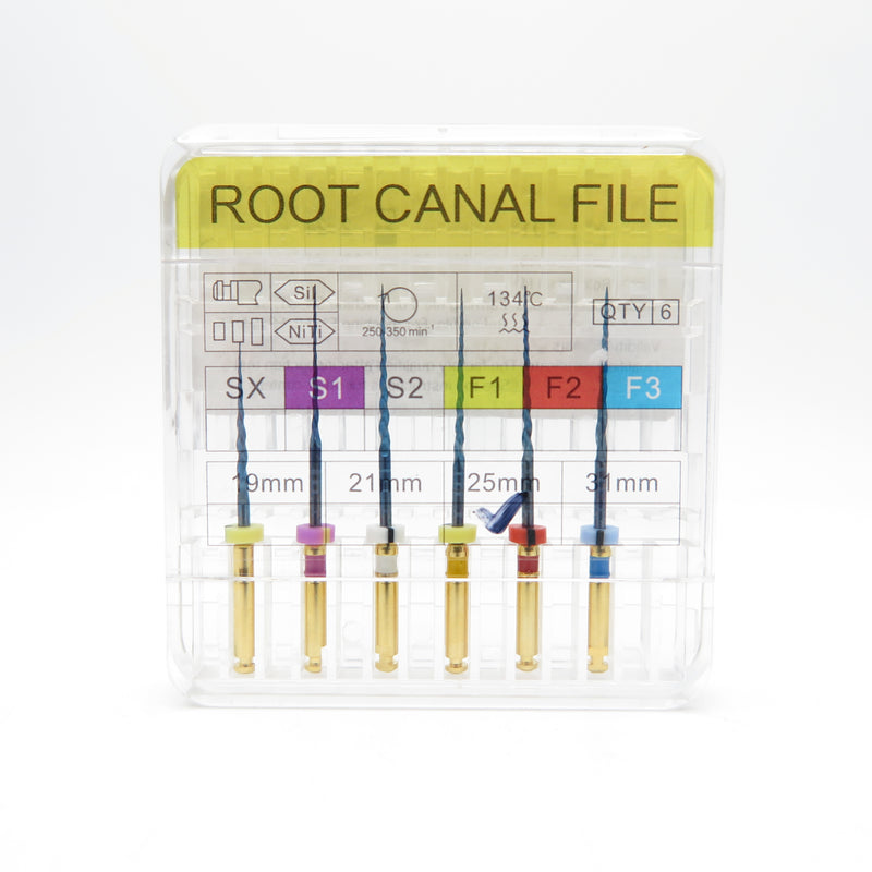 10 Boxes XM Root Canal File ProTaper Blue