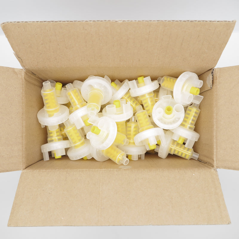 50 PCS DYNAMIC MIXING TIPS 5:1 RATIO YELLOW