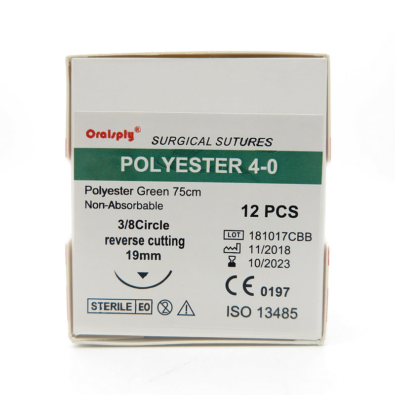 6 Boxes POLYESTER 4-0