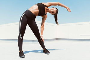 2XU Activewear 2XU Hi-Rise Compression Tights Black / Silver