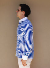 Royal Blue Nautical Stripe