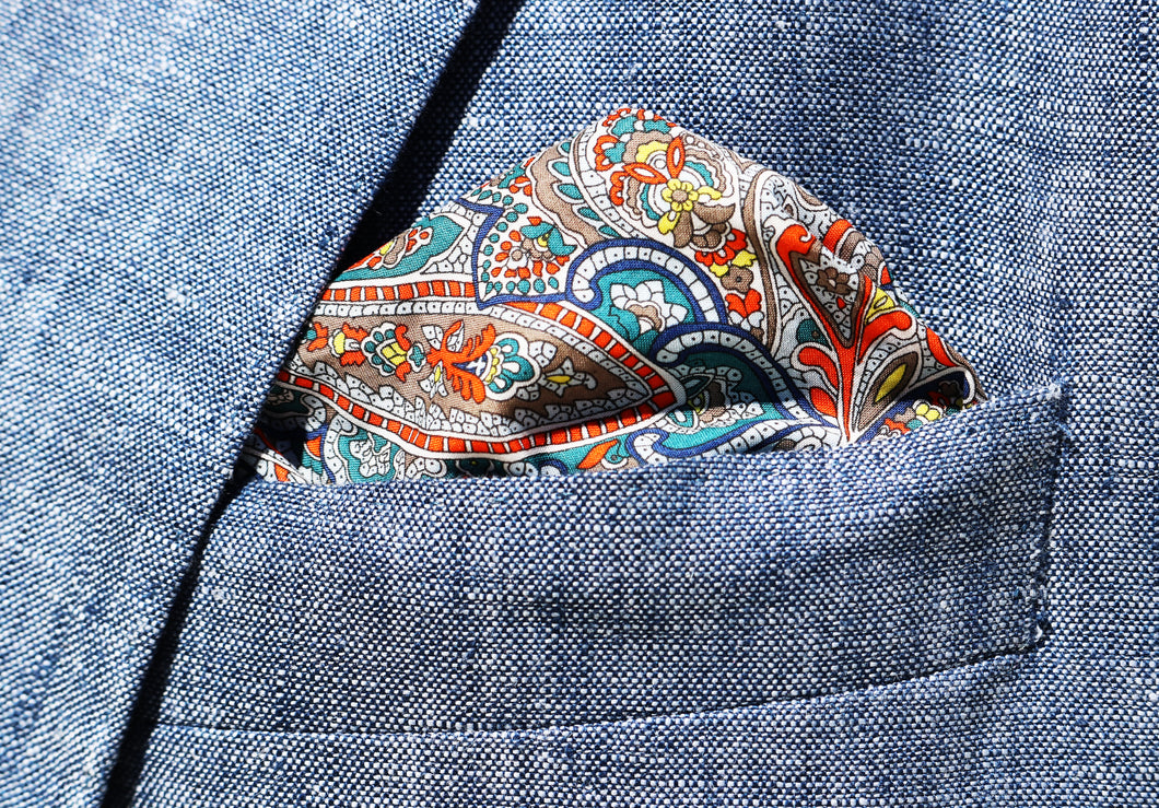 Tessa Pocket Square