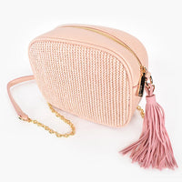 ADORNE WEAVE CAMERA BAG - 2 Colours Available