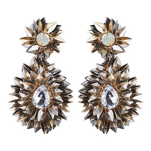 EB & IVE KRUGER FLORA EARRINGS - Silver