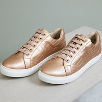 EB & IVE LAZY DAYZ SNEAKER - COPPER