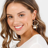 HOLIDAY TRADING MYSTIQUE EARRINGS - Gold