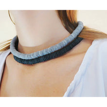 Load image into Gallery viewer, N006 short leather necklace