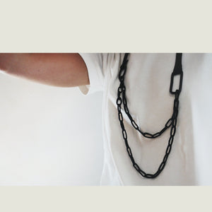 N008 leather necklace