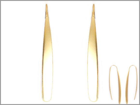 THIN GOLD EARRINGS ( 2941 )