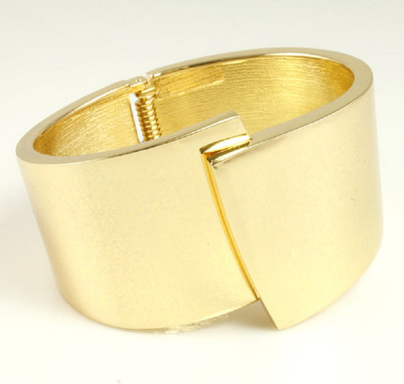 GOLD HINGE BANGLE ( 5309 )