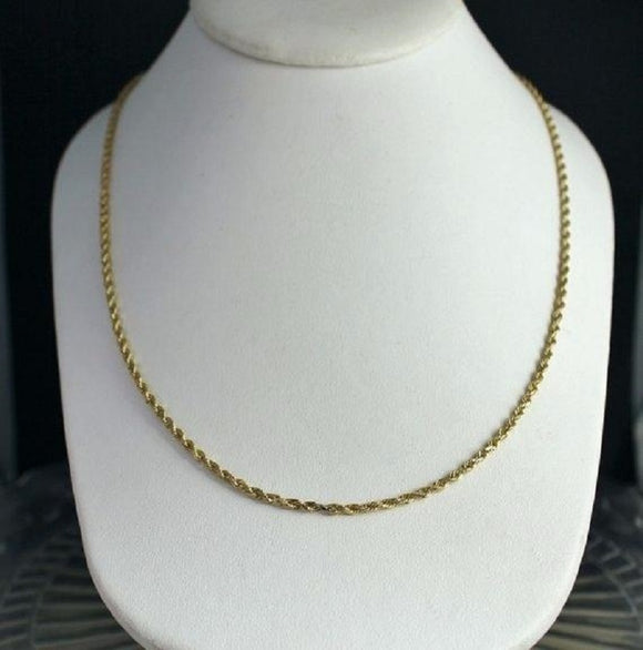 2.4MM ROPE CHAIN 20