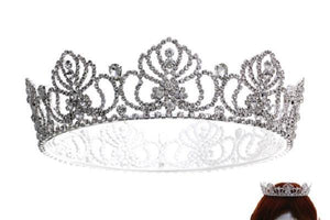 "1 3/4"" All Around Crystal Crown ( 60570 )"
