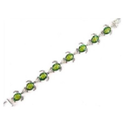 Green Turtle Magnetic Bracelet