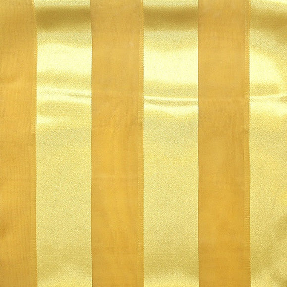 Gold Satin Stripe Scarf