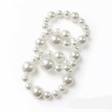 3 Piece Pearl Stretch Bracelet