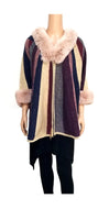 IVY MULTI COLOR PONCHO ( 0039 )o