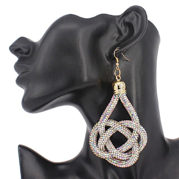 AB TWISTED EARRINGS ( 2305 GAB )