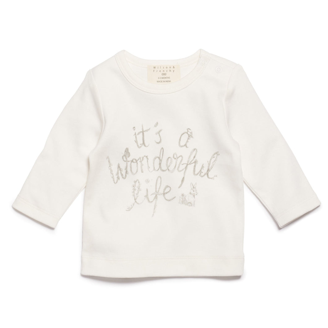 Wilson and Frenchy It's a wonderful life top