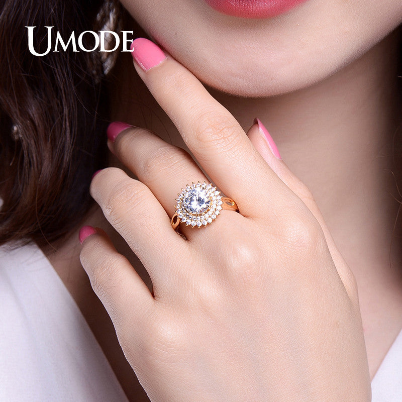 elegant wedding finger wholesale steel stainless products ring jewelry rows crystal rings drop shipping love for women