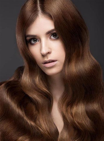 Chestnut Brown Remy Human Hair