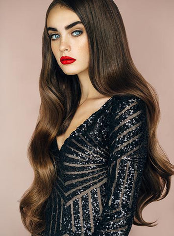Dark Brown Isabella Hair Extensions