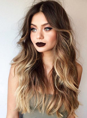 Brown Blonde Ombre