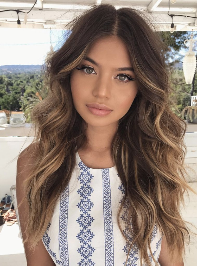 Hair Extensions Chestnut Brown Blonde Ombre Belle Hair