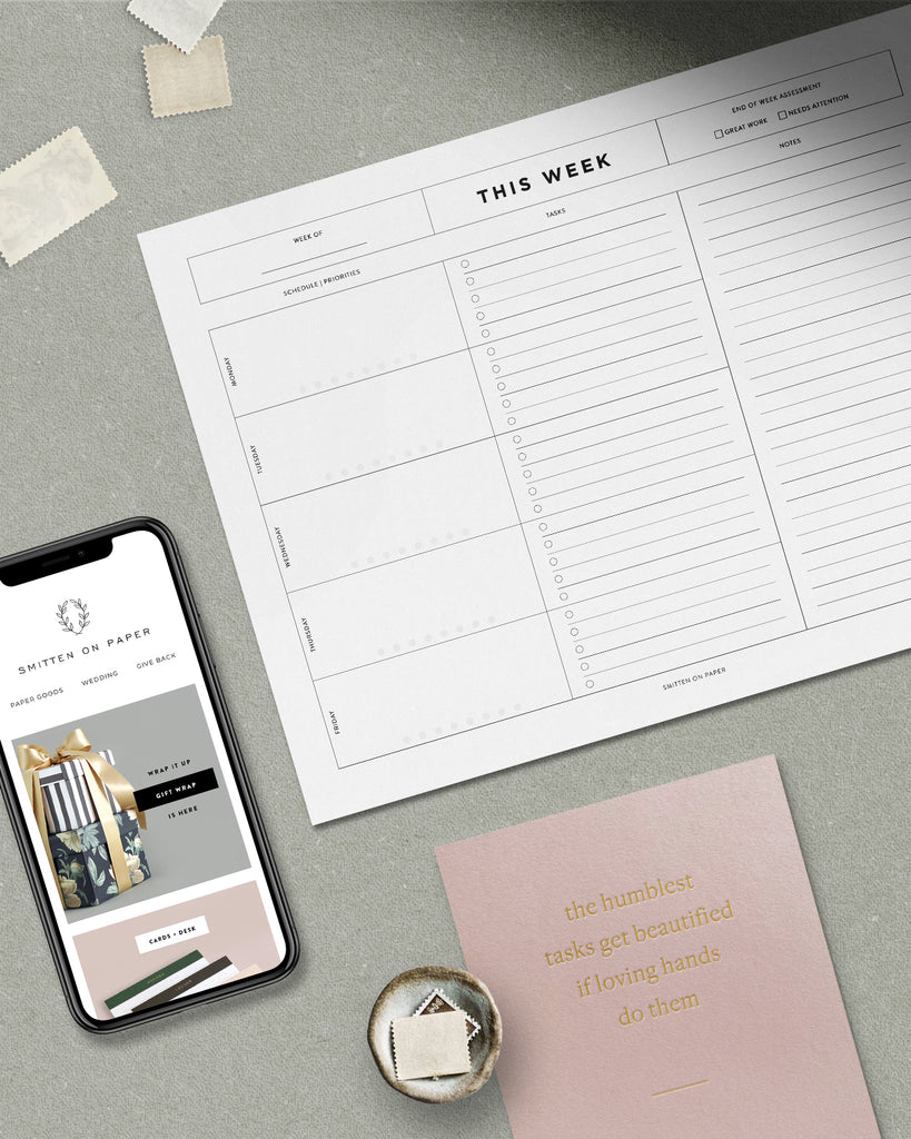Free Weekly Planner Download