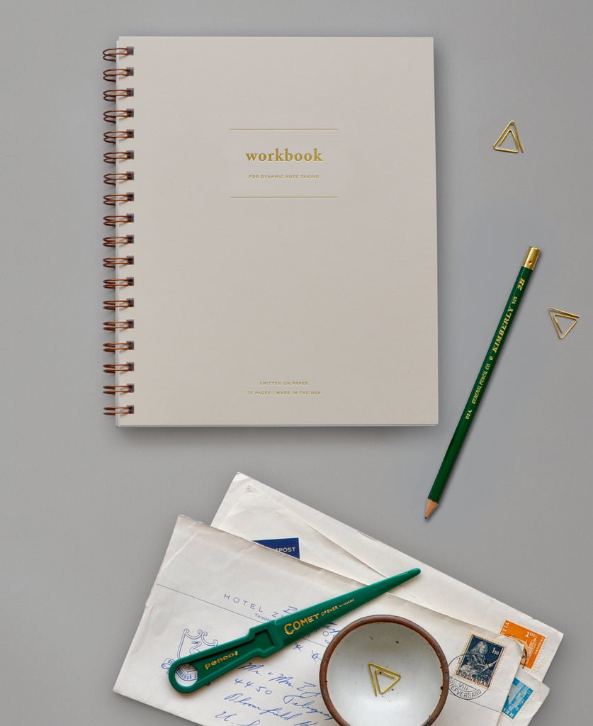 Your new favorite notebook... the Workbook