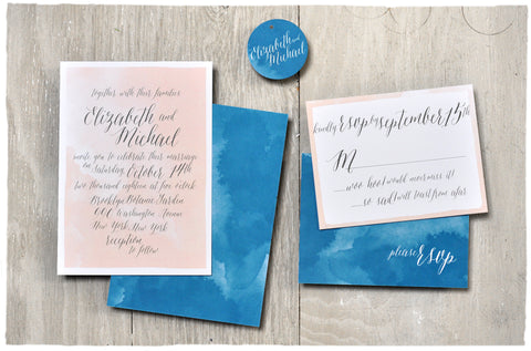 Dreaming of Love Wedding Invitation Suite