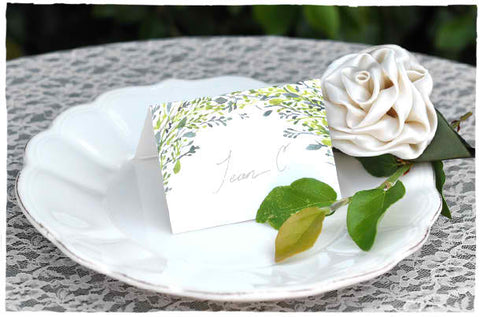 Arbor Love Escort Cards