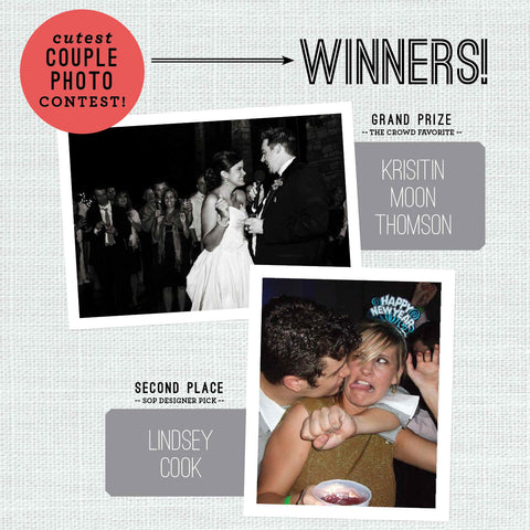 Cutest Couple Contest Winners!