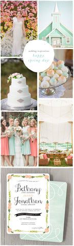 Wedding Inspiration: Happy Spring Day