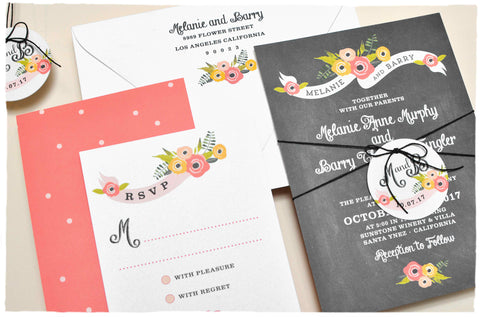 Hello Lovely Invitation Suite