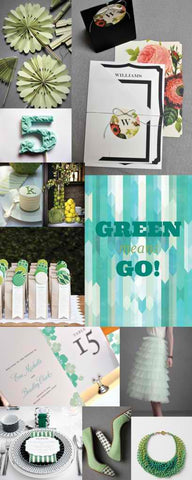 Inspiration: Green means Go!
