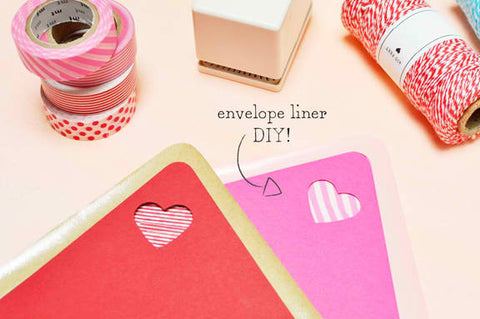 DIY: Jazzin' up your envelope liners
