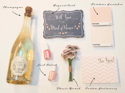 Maid of Honor Gift Set